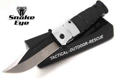 Snake Eye Tactical Action Assisted Knife Two Tone Razor Sharp Blade