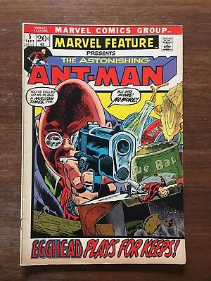 MARVEL FEATURE The Astonishing Ant-Man #5,# 6, & #7 (1972-73), Wasp, Trimpe art