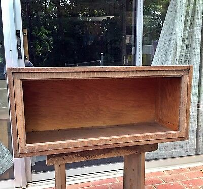 """33"""" Globe Wernicke Industrial Barrister Bookcase Section Oak Institutional Stack"""