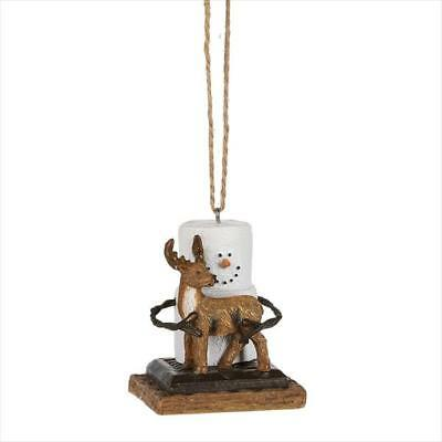 S/'more Ornament with Deer Free Ship USA
