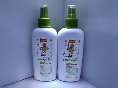 NEW Babyganics Natural Insect Repellent, Deet Free, 6 FL oz Spray FREE SHIPPING!
