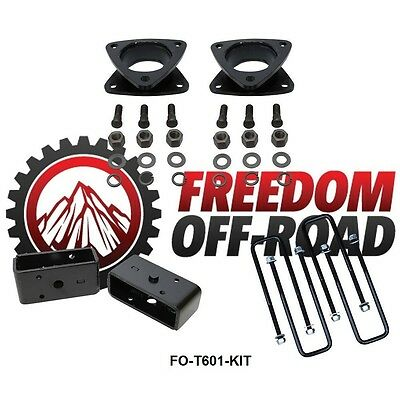 2 Rear Full Lift Leveling Kit 2009-2018 Ram 1500 4WD Freedom OffRoad 3 Front