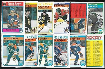 1982-83 Opc O Pee Chee Nhl Hockey Card & Error Variation 1-132 See List