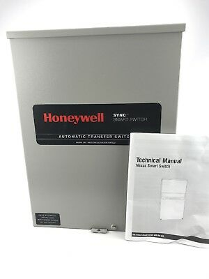 Honeywell 100 Amp 240 Volt Sync Smart Switch Automatic Transfer Switch