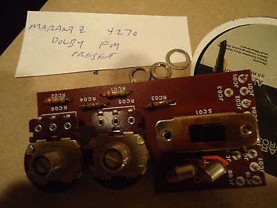 Marantz 4270 Receiver Parting Out  Dolby FM Pots + Board