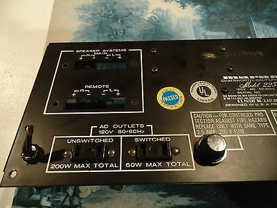 Marantz 2230 Stereo Receiver Parting Out Back Panel