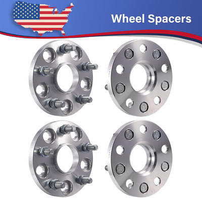 "2PCS 15mm 5x4.5/"" TO 5x4.5/"" Wheel Spacers Adapters for Lexus IS350 IS300 ES350 RC"