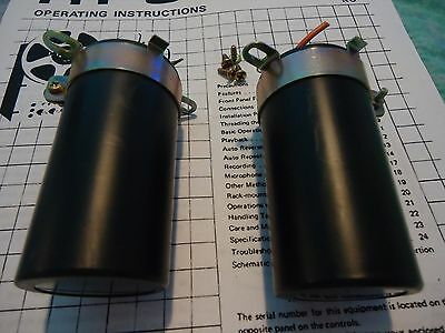 Sansui 9090 Stereo Receiver Parting Out Filter Capacitors + Brackets