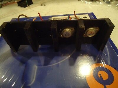 Sansui 2000 Stereo Receiver Parting Out Heatsink + 2 Output Transistors