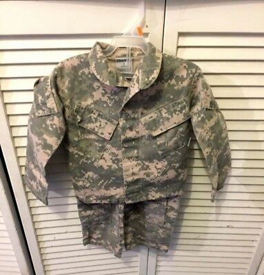 Kids United States Army ACU Camo Trooper Clothing 2 Toddler Uniform Shirt Pants