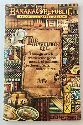 Vintage Banana Republic Travel & Safari Clothing Co. Catalog Spring 1988
