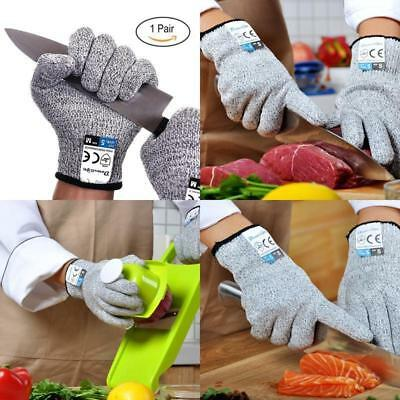 Cut Resistant Gloves Anti-Cutting Food Grade Level 5 Kitchen Butcher Pad Grear