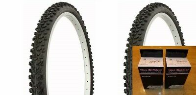 26x1-3//8 Black w//Greenline Bicycle Tires-ISO:590 Roadsters 2xTires