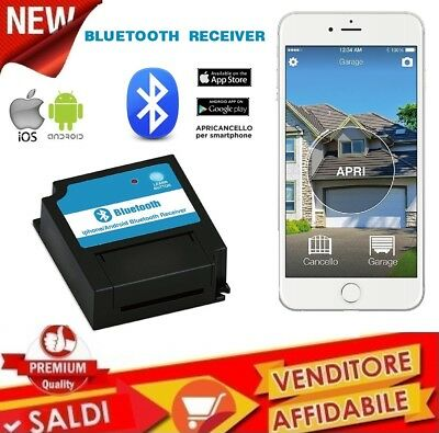 Gate opener Bluetooth 4.0 for Smartphone iPhone and Android gates doors garage