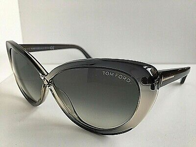 abce7da8bd72e New Tom Ford Madison TF 253 TF253 20B Gray 63mm Cats Eye Women s Sunglasses