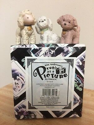 Pretty As A Picture Kim Anderson Christmas Pageant Puppy Dog Lamb  Nativity  NEW