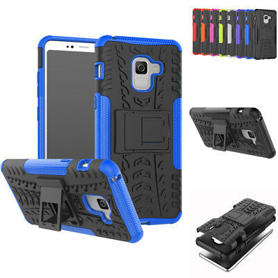 For Samsung Galaxy A8 / A8 Plus 2018 Armor Shock Proof Tough Strong Case Cover