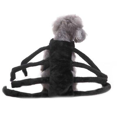 Spiderman Pet Dog Clothing Making For Halloween Party Costume Cosplay Dress Up