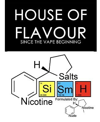 Nicotine Salts 72mg in PG, VG or 50/50 USP Grade  First Class postage