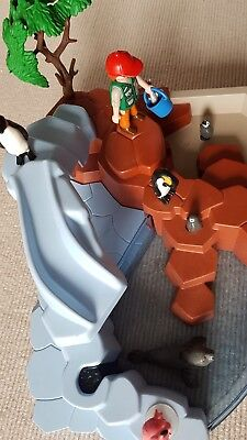 Playmobil 4013 Pinguinbecken Pinguine Zoo