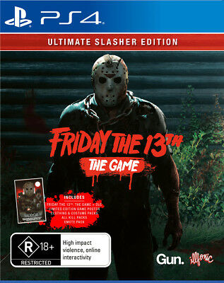 PREORDER - Friday The 13th: Ultimate Slasher E  - PlayStation 4 game - BRAND NEW