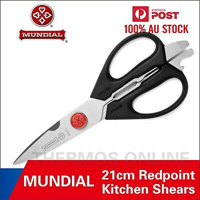 "Brand New Mundial Multi Purpose Take A Part Kitchen Shears Scissors 8 1/2"" 21Cm"
