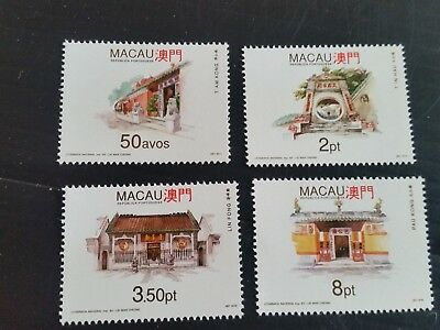 Macao 1993 Sg 792-795 Temples (2Nd Series) Mnh (M)