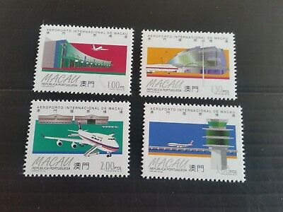 Macao 1995 Sg 912-915 Airport Mnh (M)