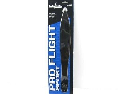 "Cold Steel Black Pro Flight One-Piece 14"" Throwing Fixed Blade Knife  80STK14"