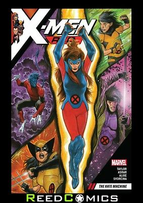 X-MEN RED VOLUME 1 THE HATE MACHINE GRAPHIC NOVEL Collects #1-5 and Annual #1