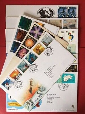 FDCs - GB 2004 First Day Covers - Commemorative - FDC MULTIPLE LISTING