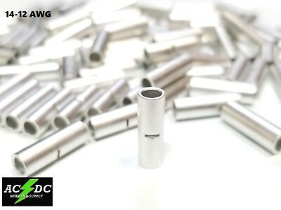 10-12 Gauge 100 PK Uninsulated//Non Insulated Ring # 6 Terminal Connector URY6