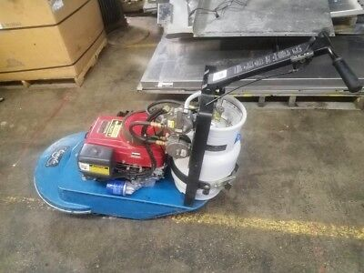 Walk Behind Eagle Propane Floor Burnisher Polisher Buffer 13hp 22""