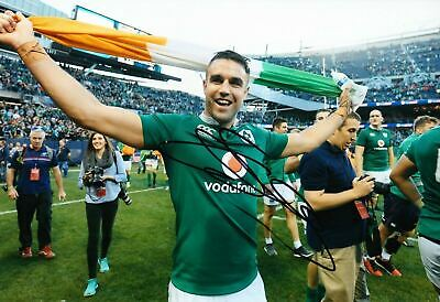 Conor MURRAY Signed 12X8 Photo Ireland MUNSTER & LIONS Rugby AFTAL COA (2128)