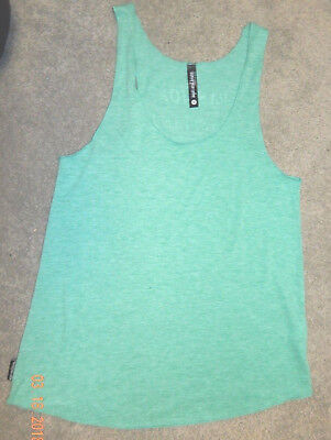 Adult Small--Sugar & Bruno Brand Dance Tank--Graphic On Back--Excellent