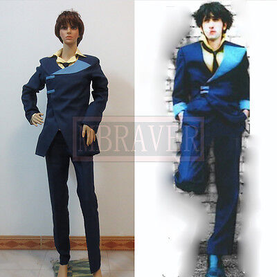 Anime Cowboy Bebop Spike Spiegel Cosplay Costume New