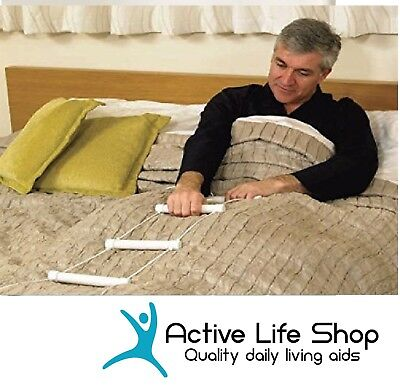 Bed Rope Ladder Hoist Bedroom Aid Sitting Up Getting Out PREMIUM