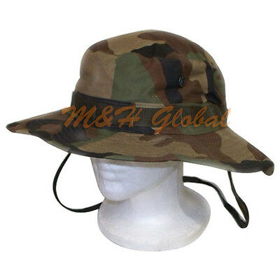 U.S. Military Boonie Hat Tactical Combat - WOODLAND