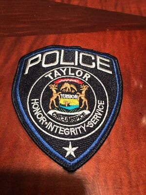 Taylor (MI) Police Department Police Patch