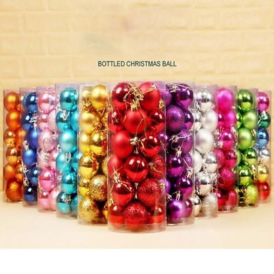 Christmas Tree Decoration Hanging Balls Bauble Xmas Party Ornaments For New Year
