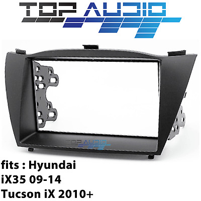 fit Hyundai car stereo radio Double 2 Din fascia dash panel facia kit trim