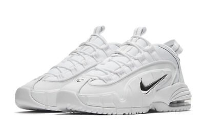 NIKE AIR MAX Penny 685153 100 White Metallic Silver Ds Size