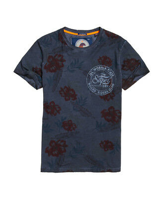New Mens Superdry Board Riders Pocket Lite Weight T-Shirt Washed Diesel