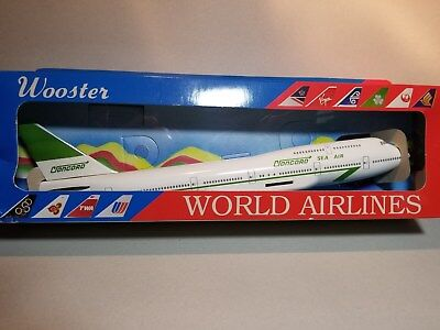 Wooster Model (W211) Concorde Freight 747-400 1:250 Scale Plastic Snapfit Model