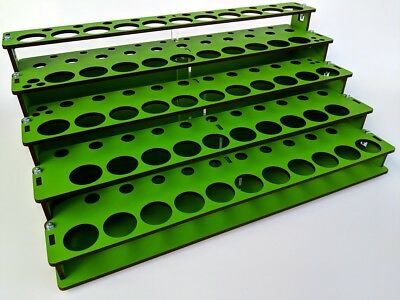 MDF Paint Rack Organizer for Hobby Paints 11 Colors Colours Vallejo & Others
