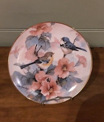 Franklin Mint Limited Edition Decorative Plate Springtime Serenade
