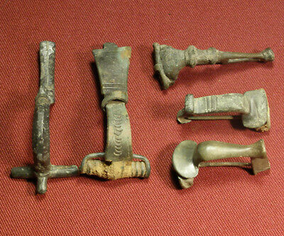 Lot of 5 Roman and Celtic Brooch / Fibula #2