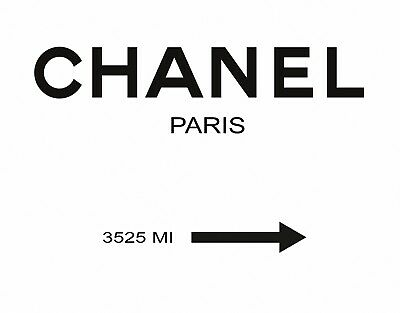CHANEL 3525 Fashion POSTER PRINT ART A4 / A3 - BUY 2 GET 1 FREE
