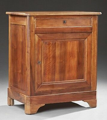 Antique French Louis Philippe Carved Walnut Confiturier Jam Preserve Cabinet