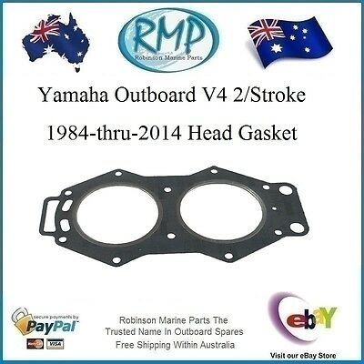 1 x New RMP Yamaha Outboard V4 Head Gasket 1984-thru-2014 # R 6E5-11181-02-00